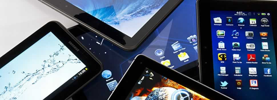 Smart Phones, Tablets & Interactive Touch Screens